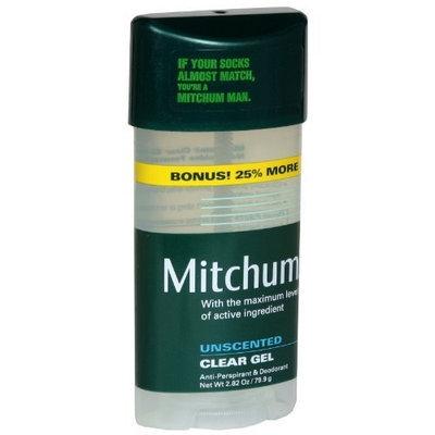 Mitchum Anti-Perspirant & Deodorant, Clear Gel, Unscented, Bonus, 2.82 oz.