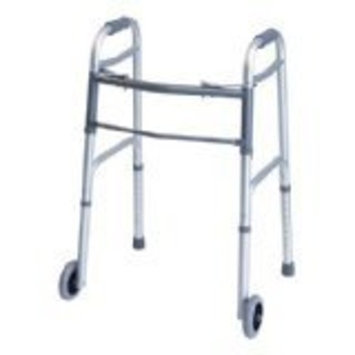 Lumex Everyday Dual Release Walker with Wheels, Adult 2/Case