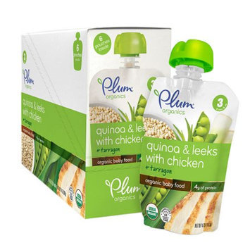 Plum Organics Baby Stage 3 Organics Baby Food Quinoa & Leeks with Chicken and Tarragon