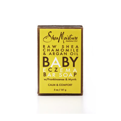 SheaMoisture Raw Shea, Chamomile & Argan Oil Baby Eczema Bar Soap