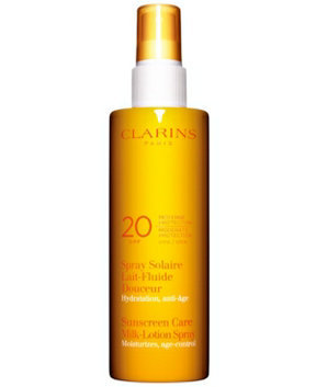 Clarins Sunscreen Care Milk-Lotion Spray SPF 20