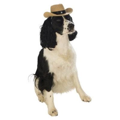 Rubie's Cowboy Hat Pet Costume - M/L