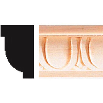 House Of Fara Decorative Egg And Dart Detail Molding - Pack of 6