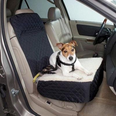 Snoozer Half Bench Lookout Perch Pet Car Seat, Khaki