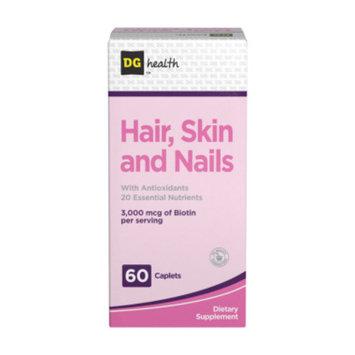 DG Health Hair, Skin & Nails Supplement - Caplets,  60 ct