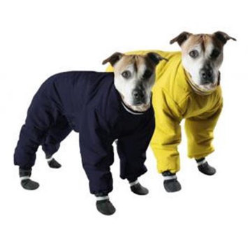 Muttluks Reversible Dog Snowsuit in Yellow/Black 24