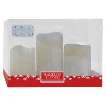 Britestar Solid Candle - Ivory (Set of 3)