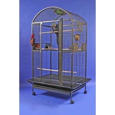 A&e Cage Giant Dome Top Bird Cage Color: Black