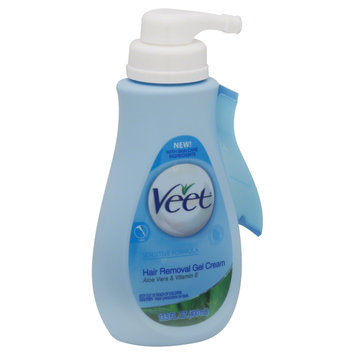 Veet Hair Removal Gel Cream, Sensitive Formula, 13.5 fl oz (400 ml) - RECKITT BENKISER