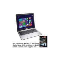 ASUS X550JK DH71 - Core i7 4710HQ / 2.5 GHz - Windows 8.1 64-bit - 8 GB RAM - 1 TB HDD - DVD-Writer - 15.6