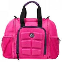 6 Pack Fitness Expert Innovator Mini Meal Management Bag - Pink/Purple