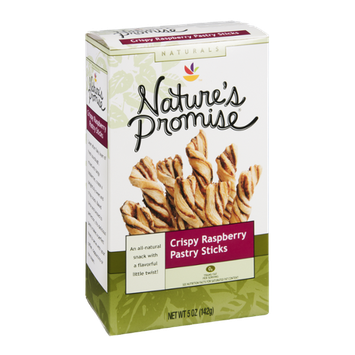 Nature's Promise Pastry Sticks Crispy Raspberry