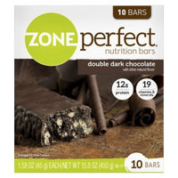 ZonePerfect Double Dark Chocolate Nutrition Bars - 10 Count