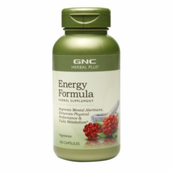 Gnc GNC Herbal Plus Energy Formula, Capsules, 100 ea