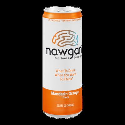 Nawgan Alertness Beverage Mandarin Orange
