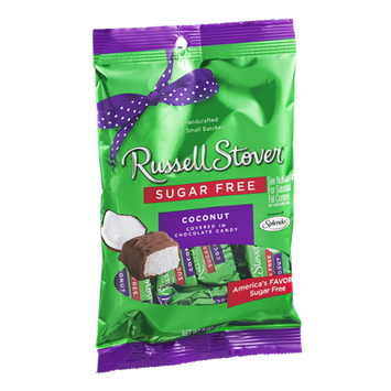 Russell Stover Sugar Free Coconut Covered in Chocolate Candy