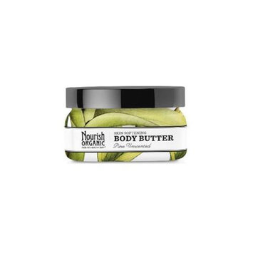 Nourish Organic Body Butter, Pure Unscented, 3.6 oz