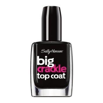 Sally Hansen Big Crackle Top Coat - Black On
