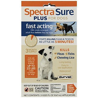 Durvet Spectra Sure PLUS Flea Treatment for 22-Pound Dogs
