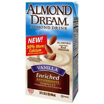 Imagine Almond Dream Almond Drink, Vanilla, 32 Ounce (Pack of 12)