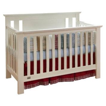Lolly & Me Delaney 4-in-1 Convertible Crib - Creamy White
