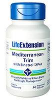 Life Extension - Mediterranean Trim with Sinetrol-XPur - 60 Vegetarian Capsules