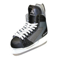 American Athletic Boys American Ice Force Hockey Skate - Black (4)