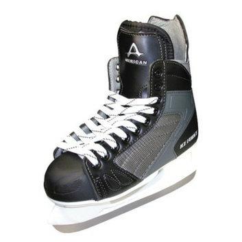 American Athletic Boys American Ice Force Hockey Skate - Black (4)