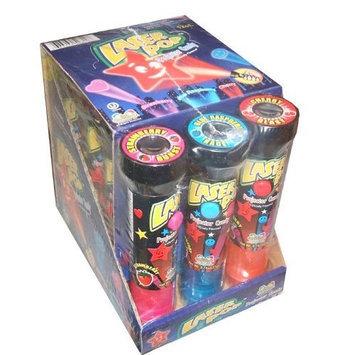 Kidsmania Laser Pop Projector Candy Lollipop (Pack of 12)(Net Wt. 8.47oz)