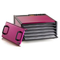 Excalibur Radiant Raspberry 5 Tray Dehydrator with Timer
