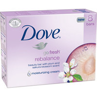 Dove Go Fresh Rebalance Beauty Bars