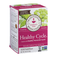 Traditional Medicinals Women's Teas Healthy Cycle Caffeine Free Tea Bags - 16 CT