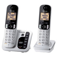 Panasonic DECT 6.0 Plus Cordless Phone System (KX-TGC222S) with