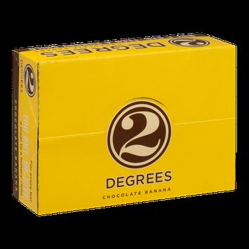 2 Degrees Food Bars Chocolate Banana - 9 CT