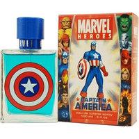 Captain America By Marvel For Men, Eau De Toilette Spray, 3.4-Ounce Bottle