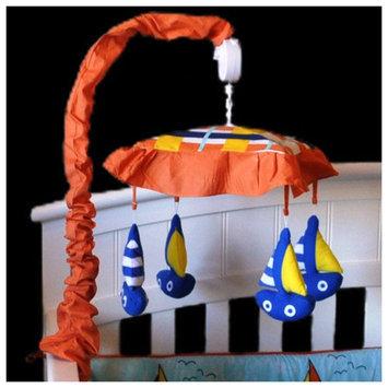 Divina DK Leigh Baby Sailor Sailboat Musical Mobile