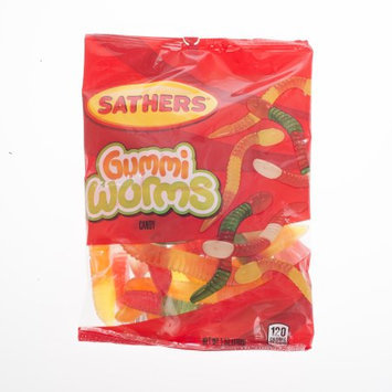 Farley's & Sathers Candy Company Gummi Worms Candy - Pack of 12