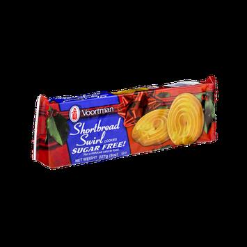 Voortman Sugar Free Shortbread Swirl Cookies
