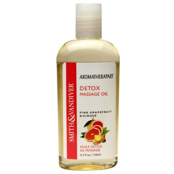 Aromatherapaes Detox Massage & Bath Oil, Pink Grapefruit & Ginger, 4.5 oz