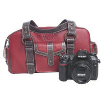 Jill-e Designs Jill-e Leather Camera Bag - Red (769367)