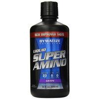 Dymatize Nutrition Super Amino 23000mg Liquid, Grape, 32 Fluid Ounce