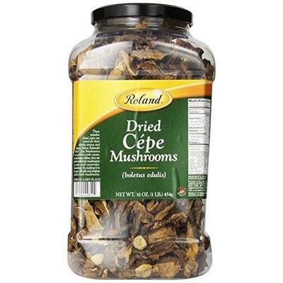 Roland Dried Cepes Mushrooms, 16-Ounce Jar