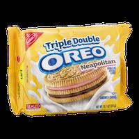 Nabisco Oreo Triple Double Neapolitan Sandwich Cookies