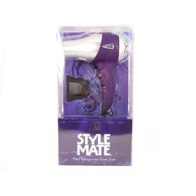 Hai Stylemate Mini Travel Hair Dryer - Purple, 1.5-Pound