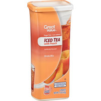 Great Value : Iced Tea With Peach Drink Mix