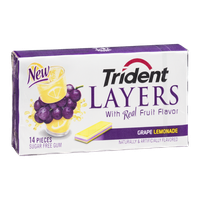 Trident Layers Grape Lemonade