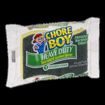 Chore Boy Heavy Duty Two-Sided Scrubber Sponge