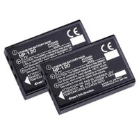 Replacement Battery For Fuji NP120 (2 Pack)
