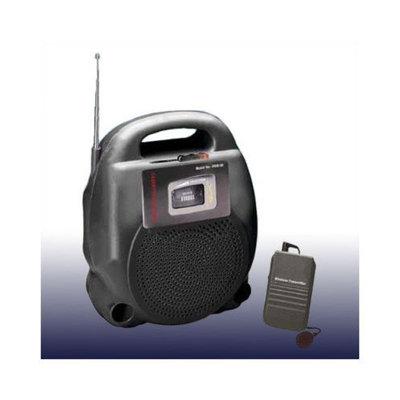 Oklahoma Sound Corporation Portable Wireless 20 Watt PA System