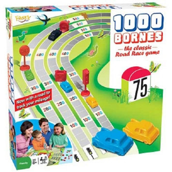 Fundex Games Mille Bornes Board Game Ages 5 and up, 1 ea